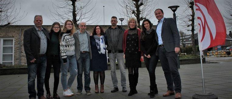 Het nieuwe bestuur van sp.a Oudenburg