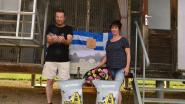 Gerda Vanheer en Stefaan Anthoons schitteren in de Barcelona vlucht met duif Indira