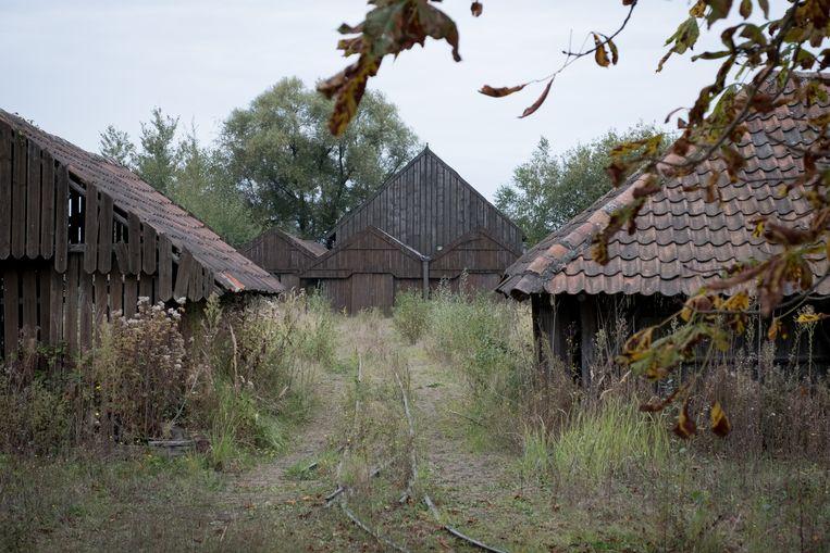 De oude steenbakkerijen zijn nu ruïnes