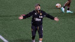 """FT buitenland. Arts Maradona: """"Diego heeft twee knieprotheses nodig"""" - Guardiola: """"De Bruyne is fit, maar weet niet of hij start"""""""