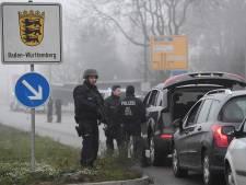 Klopjacht Franse politie op dader aanslag Straatsburg, vooral veel controle richting Duitsland