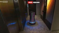 In dit hotel in New York zorgt een robot voor de roomservice
