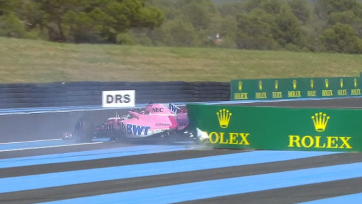 GP Frankrijk: Hoogtepunten tweede vrije training