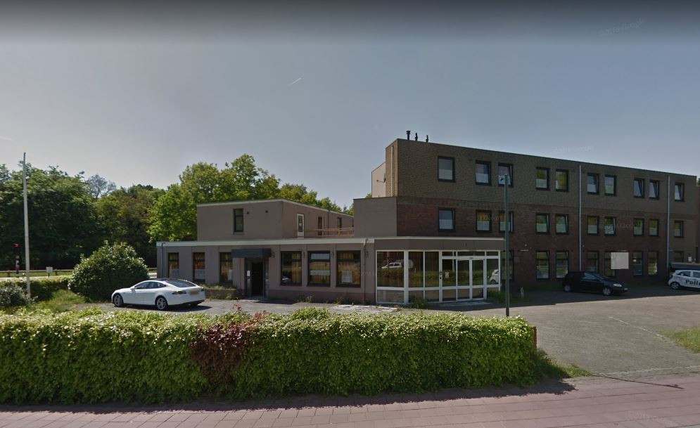 Hotel Cigogne aan de Rijksweg in Rijen.