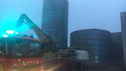 Opnieuw brand bij Pouleyn, waar twee maanden geleden silo vernield raakte