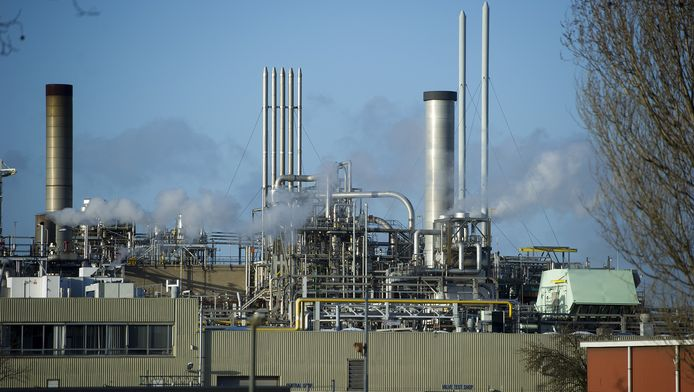 Chemieconcern DuPont in Dordrecht