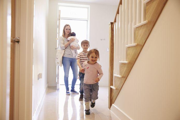 De trap kan in huis een hoop geluid geven, zeker als 'huisgenoten' 's nachts naar boven of beneden lopen.