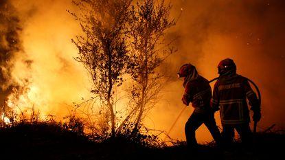 Drie dagen van nationale rouw in Portugal begonnen, belangrijkste branden onder controle