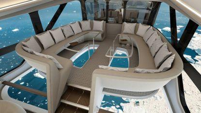 'Vliegende kont' wordt omgebouwd tot super-de-luxe luchtschip