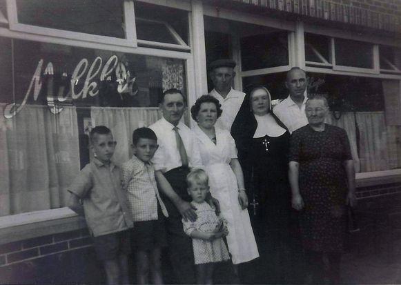 Een foto uit de rijke 'créme-glace'-geschiedenis van de voorouders van Milkbar Vanessa