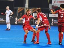 België verrast Duitsland en staat in halve finale WK hockey