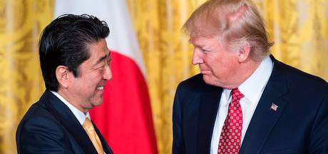 Trump belt met Japan en China over Noord-Korea