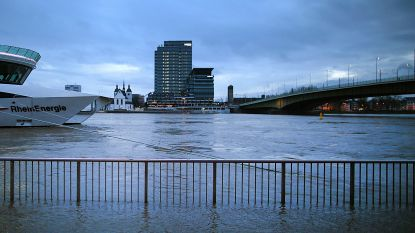 Water in Rijn en Moezel zakt