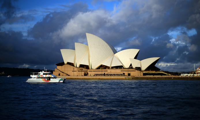 Het Sydney Opera House.
