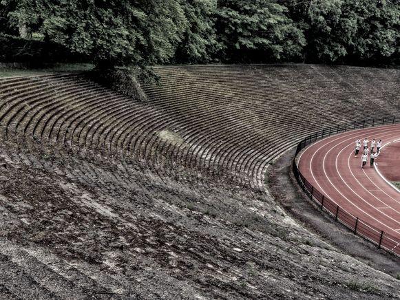 Drie Lindenstadion in Watermaal-Bosvoorde.