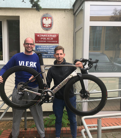 Leslie uit Ter Aar haalt dure racefiets zelf terug uit Polen na bizarre soap