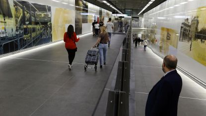 Uitchecken moet tegen april 2019 in alle Brusselse metrostations