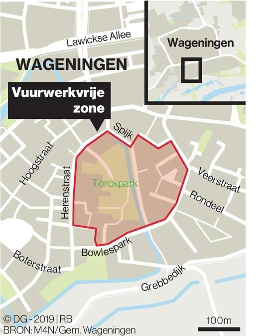 Vuurwerkvrije zone Wageningen.