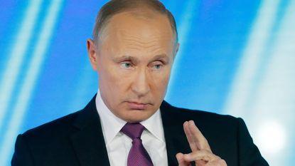 """Poetin beschuldigt Europese Unie van """"dubbele standaarden"""" over Catalonië en Kosovo"""