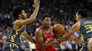VIDEO. Het is Toronto menens: ze overklassen in Californië kampioen Golden State, Warriors al voor tiende keer onderuit