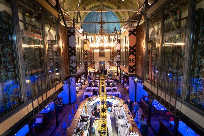 Bizar-Bazar, restaurant en hotel in de Lutherse kerk in Arnhem.