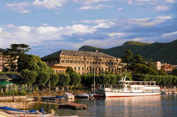 De plaats Menaggio aan het Comomeer in Italië waar Blanca van den Brand haar Cheat Retreat heeft.