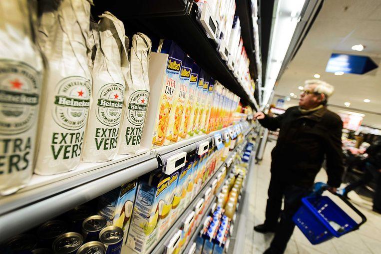Extra vers bier in het koelschap. Beeld ANP