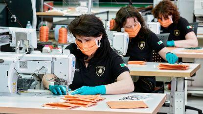 Lamborghini schakelt over naar productie mondmaskers