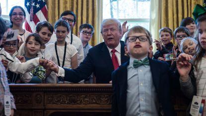 Iemand steelt de show in het Witte Huis... En het is níet Trump