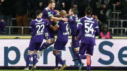 LIVE. Anderlecht laat weinig heel van tienkoppig Eupen: 4-0 bij de rust!