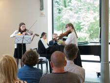 Talenten geven klassiek concert bij de Piushaven
