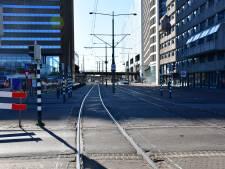 Tramsporen op de schop bij Centraal Station: trams rijden andere route