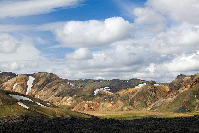 'In elk land is wel een bijzonder landschap te vinden.' Op de foto een beeld uit IJsland. Beeld .