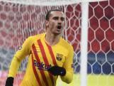 Heerlijke hakbal Griezmann zet Barca op voorsprong in Champions League