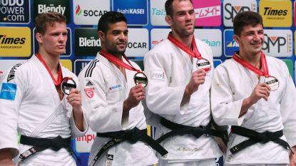 Casse zet zich in rijtje met zes Belgische voorgangers die WK-medaille behaalden in het judo