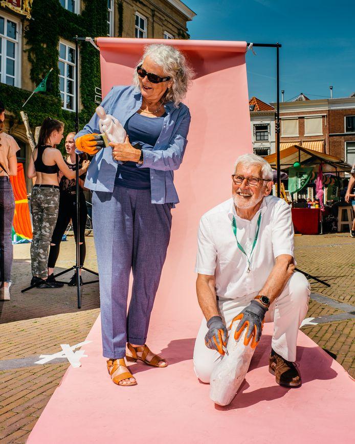 Deelnemers aan IkToon Gorinchem 2019 werden tijdens de manifestatie door fotograaf Johannes van Camp in beeld gebracht met hun kunstuiting.