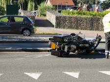 Motorrijder gewond door ongeluk met vrachtwagen in Waalwijk