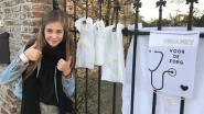 """Cara (11) maakt kaartjes om anderen op te vrolijken: """"Stuur ze naar zieken, ouderen of wie een schouderklopje kan gebruiken"""""""