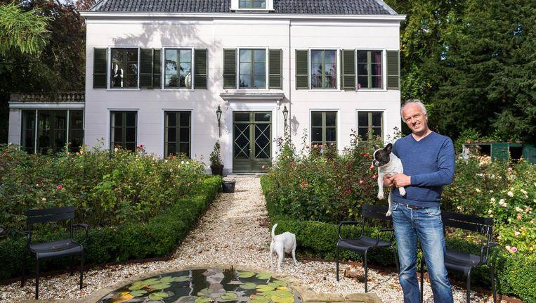 Rob Slewe voor Elswoutshoek: 'Al die tegenwerking. Ik heb spijt dat we het landgoed hebben gekocht.' Beeld Rink Hof