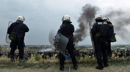 Opnieuw schermutselingen tussen Griekse politie en migranten die grens willen oversteken
