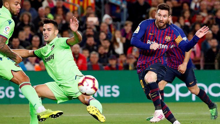 Lionel Messi Beeld EPA