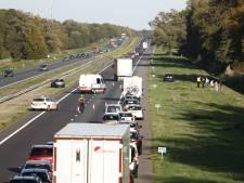 Ongeluk op A1 bij Enter: vertraging neemt af