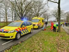 Motorrijder raakt zwaargewond bij ongeluk in Budel