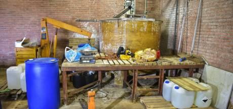 Eis twee keer vijf jaar cel tegen Rijenaar met enorm drugslab