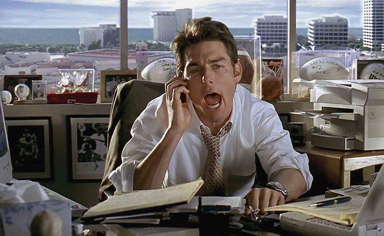 Tom Cruise in Jerry Maguire van Cameron Crowe. Beeld