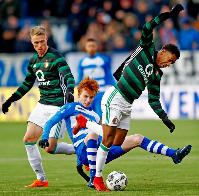 Sepp van den Berg vertrekt bij PEC Zwolle.