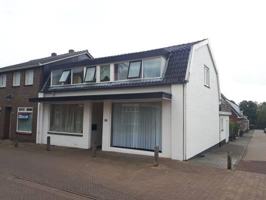 Het huis aan de Stokkumseweg in 's-Heerenberg.