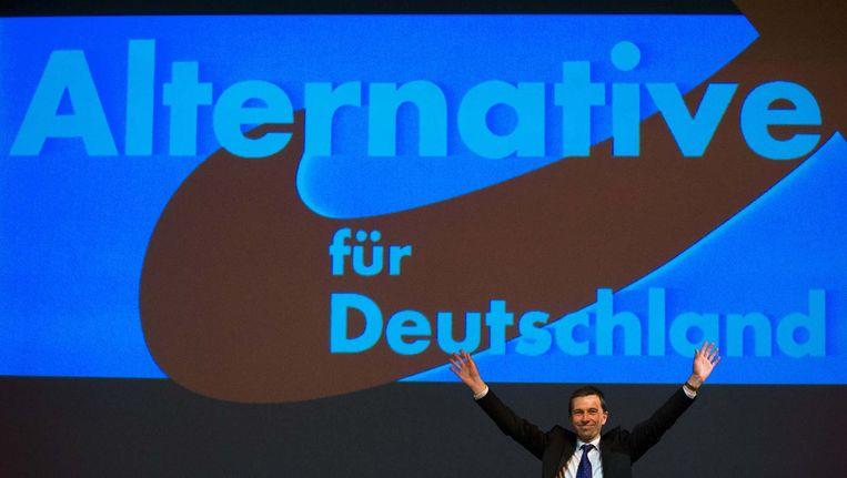 De leider van de Duitse partij Alernative für Duetschland.