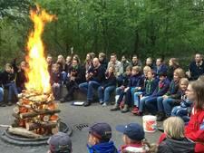 Honderden scouts uit Twente komen samen bij Nanne Zwiep uit Enschede