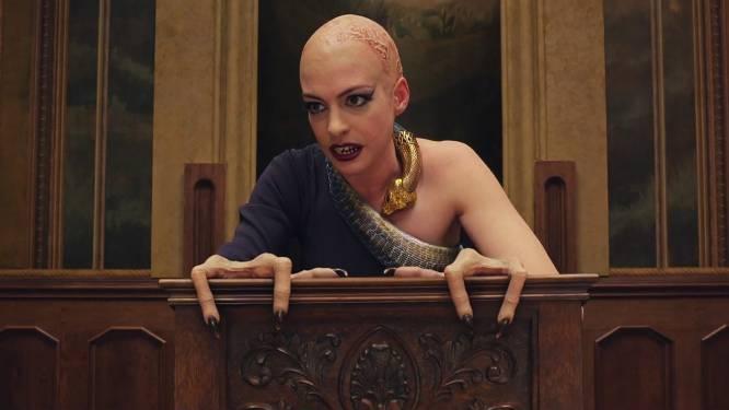 """Anne Hathaway zegt sorry na ophef over film 'The Witches': """"Ik wilde mensen met een beperking niet kwetsen"""""""
